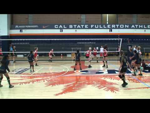 Offshore Volleyball Club 13-1 Girls vs Vision Zone UA 13-Kelly Match1