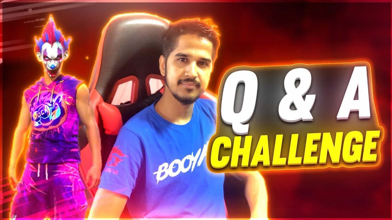 FreeFire Q & A Challenge // FT. Desi Gamers