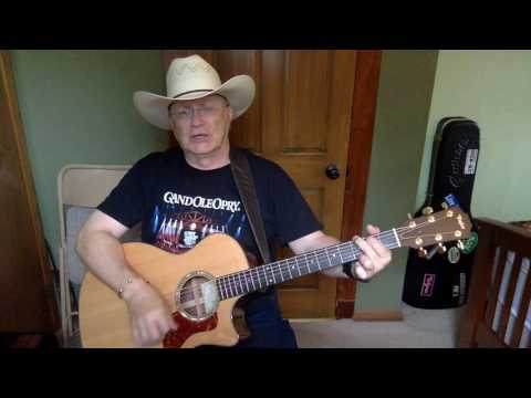 1426b  - The Cowboy Rides Away -  George Strait vocal & acoustic guitar cover & chords