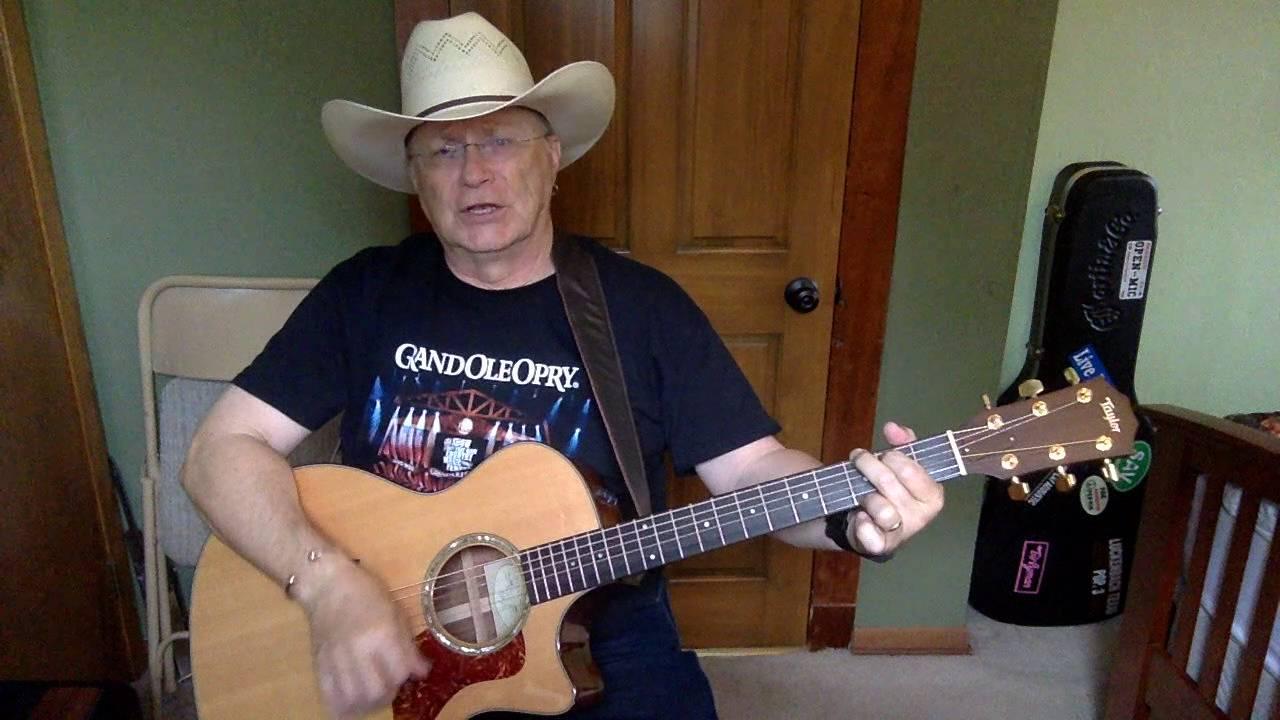 1426b The Cowboy Rides Away George Strait Vocal Acoustic