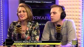 "Awkward. After Show Season 3 Episode 18 ""Old Jenna""   AfterBuzz TV"