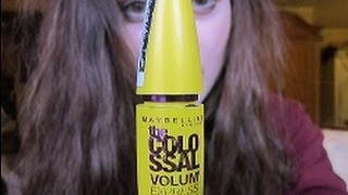The Colossal volume mascara review Thumbnail
