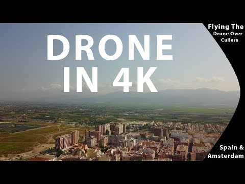 Drone Over Cullera  In 4K | Spain | Travel Vlogs