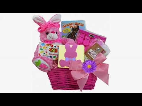 Must See Easter Review! Classic Easter Gift Basket (Pink) - Premade and Shrink-Wrapped, Kids, Boy..