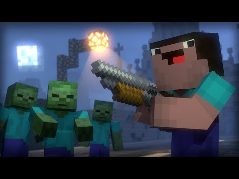 Blocking Dead: Part 1 (Minecraft Animation) [Hypixel]