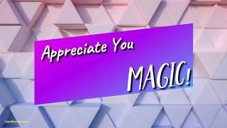 Appreciate you - Magic! - Lyrics