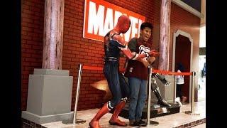 Spiderman Mannequin Prank Part 1