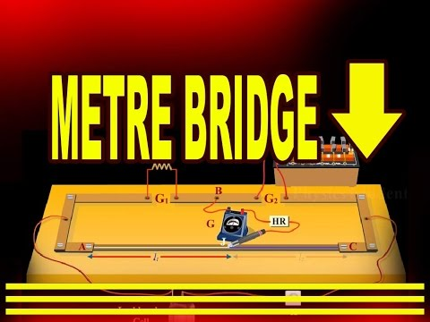 Construction and Working of Metre Bridge | Physics Video Tutorials