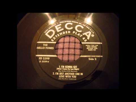 Mello-Tones - I'm Just Another One In Love With You - Rare Early 50's Group Ballad