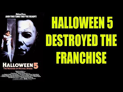 Halloween 5 (not Halloween 4) Destroyed The Franchise: