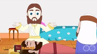 The Paralysed Man Walks - Bible Stories For Children