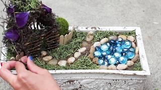 How To Make A Fairy House & Garden