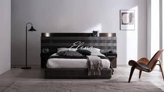 [쉐우드가구] 일레나 호텔 LED 침대