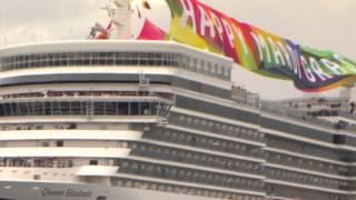 Repeat youtube video Cunard's Queen Elizabeth