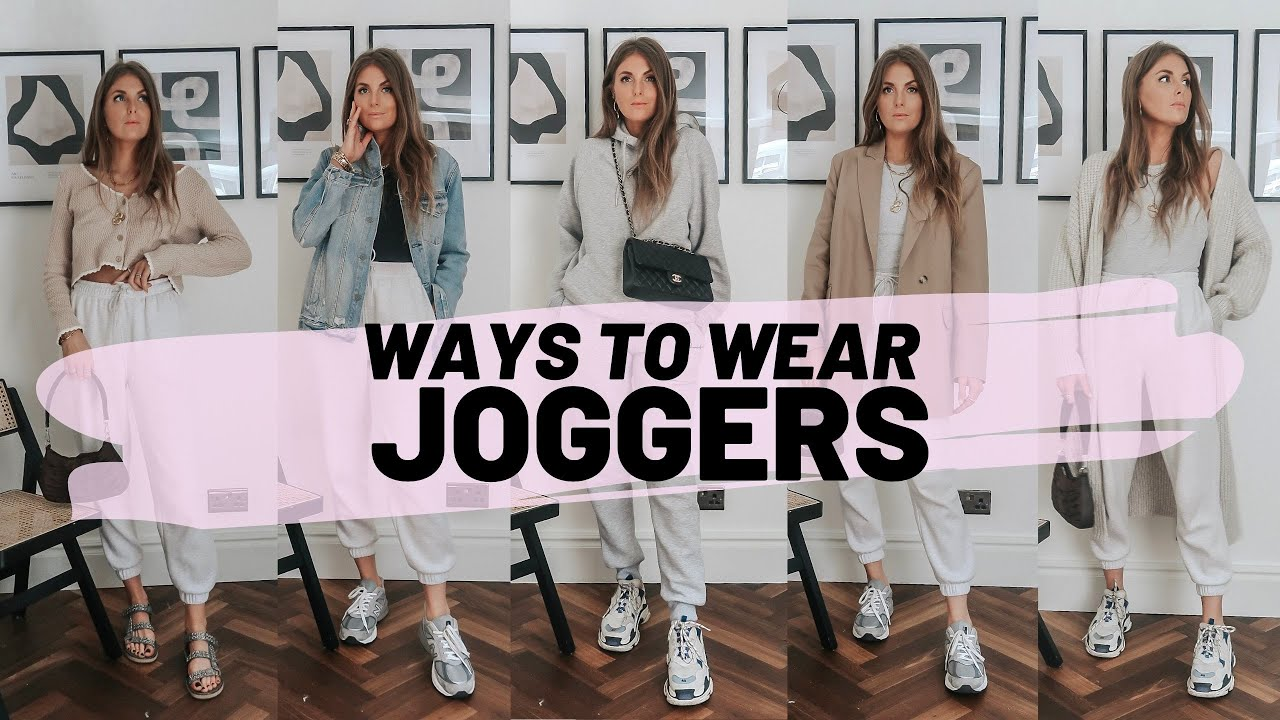 How To Style Joggers / 5 Everyday Outfit Ideas / Sinead Crowe