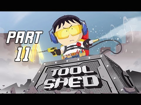 South Park The Fractured But Whole Walkthrough Part 11 - Tool Shed Stan (Let's Play Commentary)