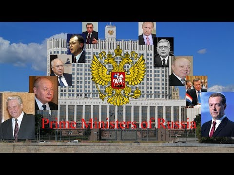 Prime Ministers of Russia