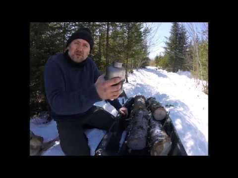 DIY Pulk Sled and Processing Pine Wood
