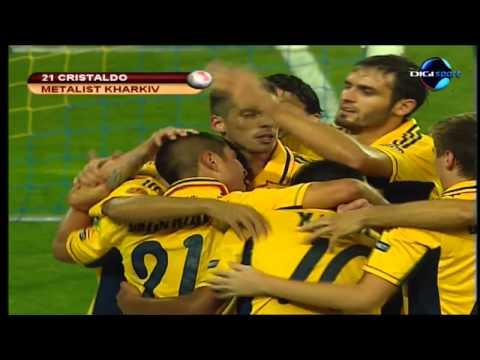 Metalist - Dinamo 2-1 Gol Cristaldo (30.08.2012)