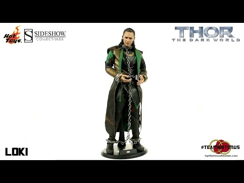 Video Review of the Hot Toys: Thor The Dark World: Loki