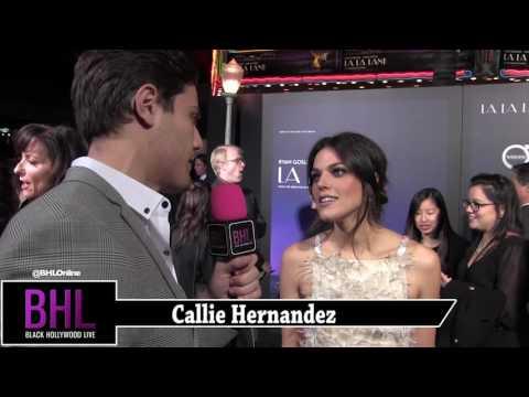 Callie Hernandez   La La Land Premiere