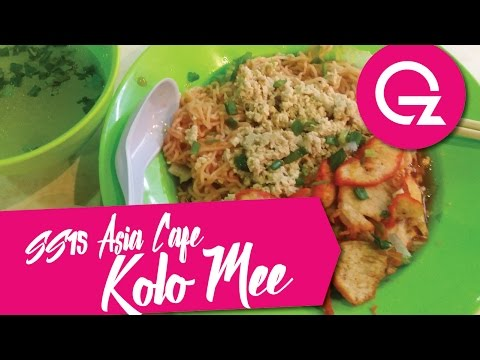 Kuala Lumpur Eat & Go : SS15 Asia Cafe Sarawak Kolo Mee