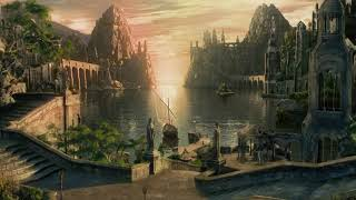 The Lord of the Rings: The Grey Havens Ambience & Music - YouTube