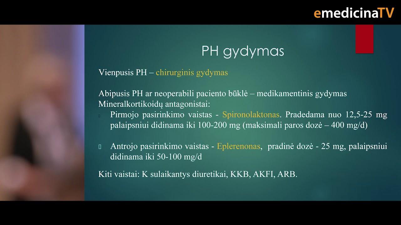 kas yra 1 tipo hipertenzija