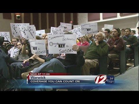 Night 2 of public comment on Warwick Veterans High School plan
