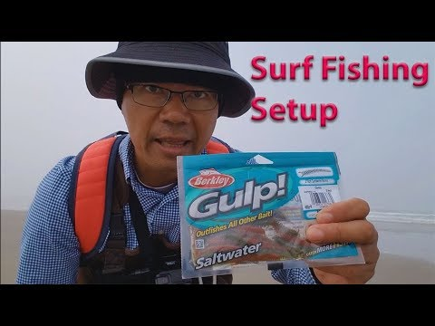 How to setup Gulp Sandworms for surf fishing to catch more fish - Oregon Coast