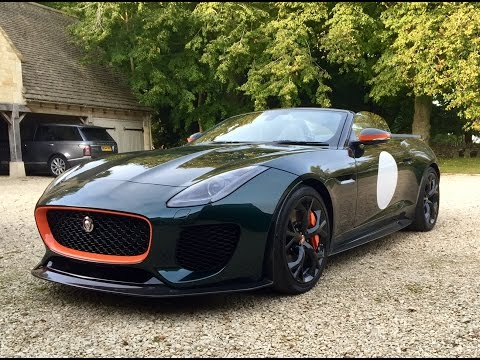 Jaguar Project 7 drive review