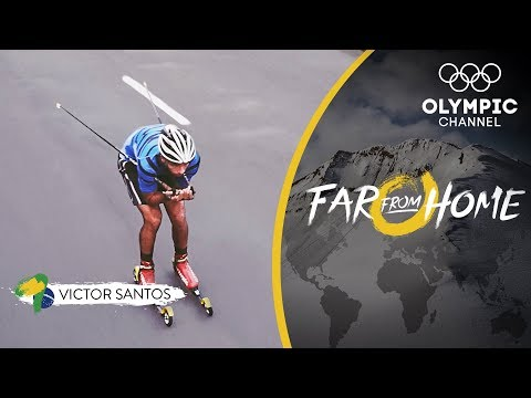 From Skiing on Brazilian Streets to Racing the World's Best in PyeongChang  Far From Home