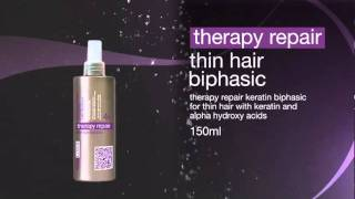 Thin Hair Biphasic - Therapy Repair - Biphasic for thin hair with keratin and alpha hydroxy acids