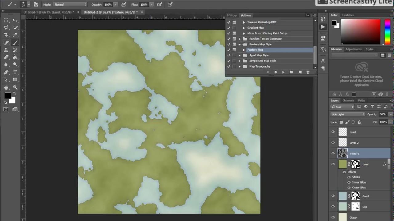 vancanos map generator 1 minute demo real time