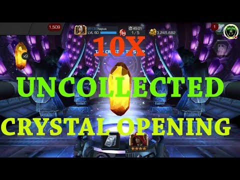 10 daily uncollected  crystal opening marvel contest of champion