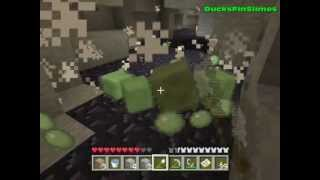 Minecraft 360: Farming Slimes in Caves (Tips and tricks 1.7 update tutorial)