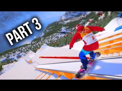 Steep Road to the Olympics Gameplay Walkthrough Part 3 - CRAZY SLOPESTYLE CHAMPIONSHIP (Full Game)