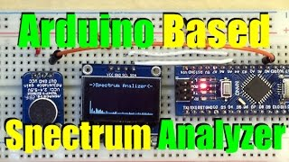 Arduino Spectrum Analyizer