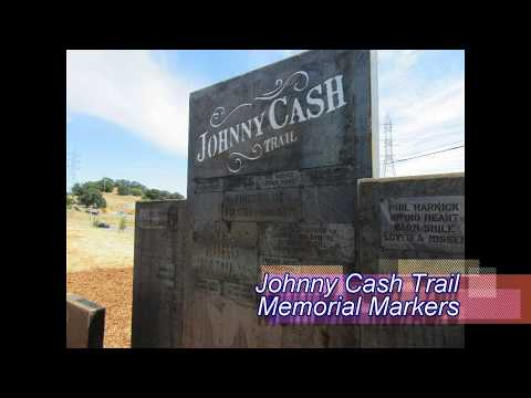 Johnny Cash Trail, Folsom, CA: Park Memorials