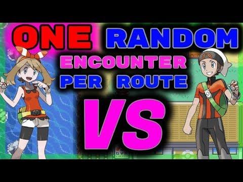 We Catch 1 RANDOM Pokemon Per Route. Then We FIGHT! Pokemon Emerald