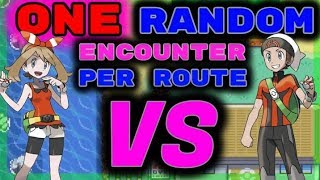 We Catch 1 RANDOM Pokemon Per Route. Then We FIGHT! Pokemon Emerald