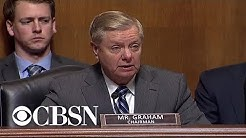 "Sen. Lindsey Graham sees ""common ground"" on ""red flag"" gun laws"