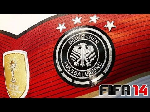 FIFA 14 - DFB Trikot 4-Sterne - Fifa World Champion 2014 Badge