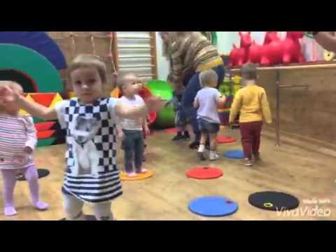 Фитнес для малышей от 1 до 2 лет
