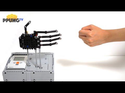 LEGO Mindstorms EV3 rock-paper-scissors Robot with 100% winning rate ...