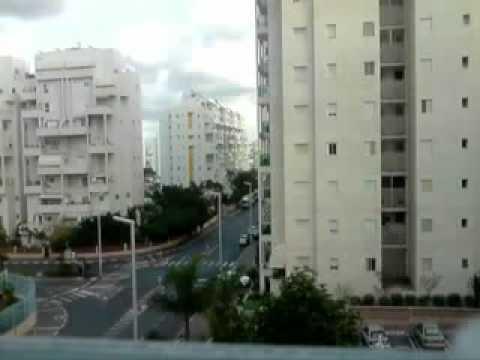 Hamas rocket attack on the city of Ashdod, Israel