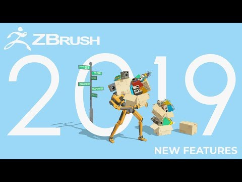 ZBrush 2019 World Premiere - All New Features - YouTube