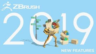 ZBrush 2019 World Premiere - All New Features