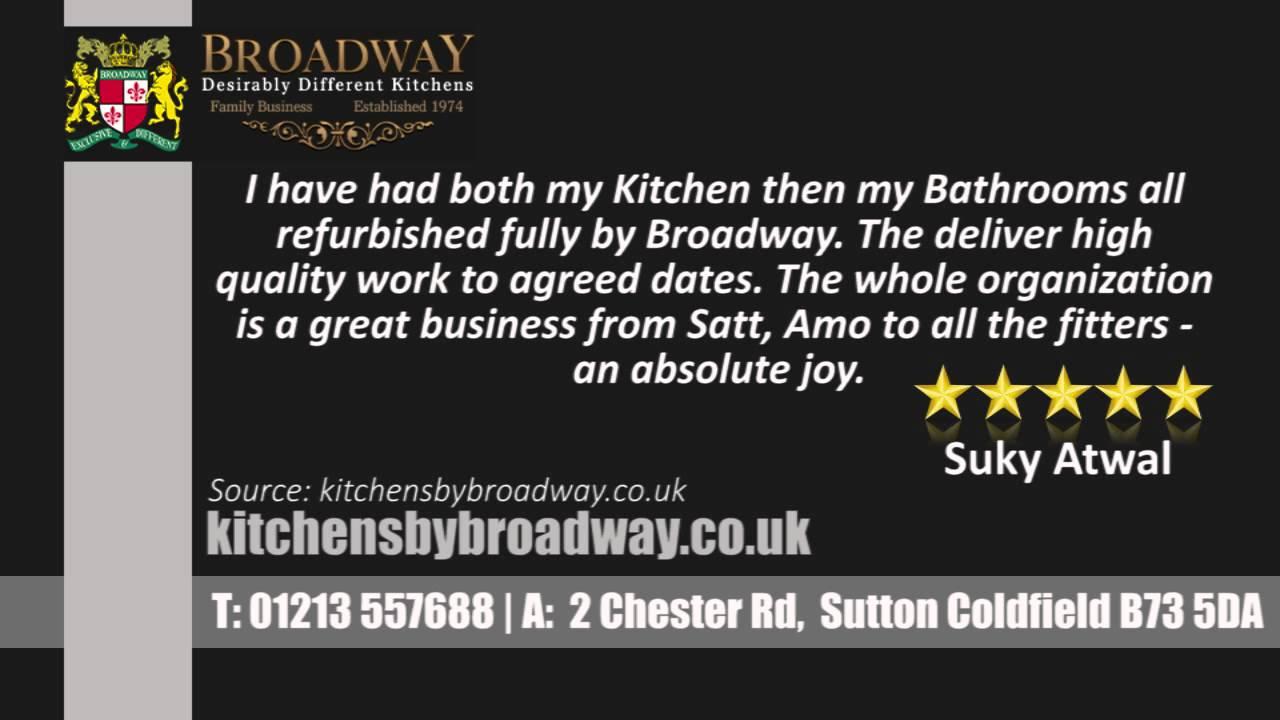Luxury Bathrooms & Kitchens Sutton Coldfield broadway kitchens - sutton coldfield - reviews - youtube