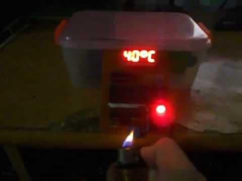 Đo nhiệt độ dùng AT89C52 + ADC0804 và LM35 DZ
